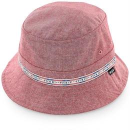 【ラス1】HUF FUCK IT OXFORD BUCKET HAT(red)
