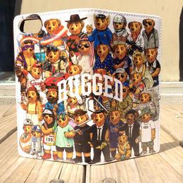 """RUGGED """"MULTI BEAR"""" Book case(iPhone7)"""