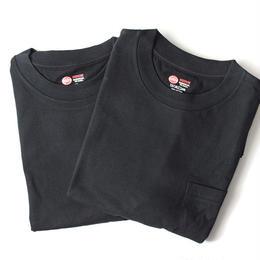 RED KAP pack pocket tee (Black/2枚入)
