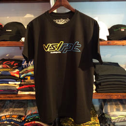 "【ラス1】visualreports ""NEON""  tee (Yellow/Blue)"