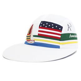 """【ラス1】THE ROHE PROJECT """"REGATTA """" LONG BILL CAP(White)"""