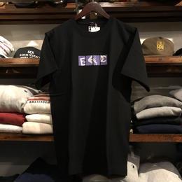 "【RUGGED別注/残り僅か】FESC ""BOX LOGO"" tee(Black)"
