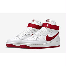 【ラス1】NIKE AIR FORCE 1 HI RETRO QS(SUMMIT WHITE/TEAM RED)