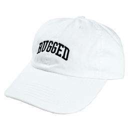 【残り僅か】RUGGED ''ARCH LOGO'' adjuster cap (White)
