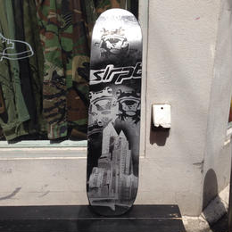 "【exclusive】VisualReports ""Eight"" original stencil skateboard deck"