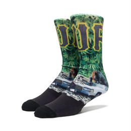 【残り僅か】HUF BIG CATS CREW SOCKS