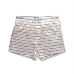 【ラス1】HUF PENTHOUSE SILK BOXER SHORT (White)