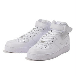 【ラス1】NIKE AIR FORCE 1 '07 MID (White/White)