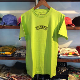 "【残り僅か】visualreports ""HIGRADE NEON"" tee (Neon Green)"