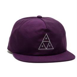 【ラス1】HUF TRIPLE TRIANGLE SNAPBACK (Purple)