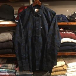 【ラス1】Levi's  B.D camo shirt(Navy)