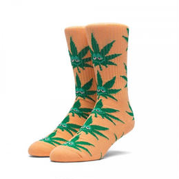 【残り僅か】HUF GREEN BUDDY CREW SOCK(Orange)