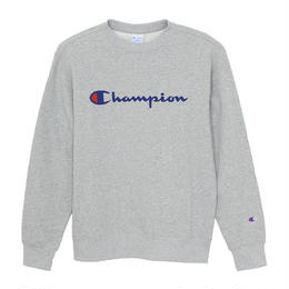 【残り僅か】Champion logo sweat(Gray)