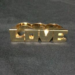 """RUGGED × RUDE BOYZ CLUB """"LOVE"""" RING"""