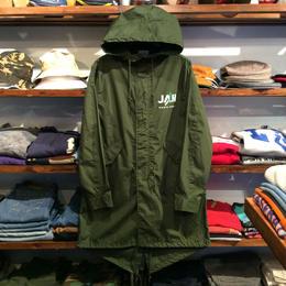 """【残り僅か】RUGGED """"JAH"""" mods coat(Olive)"""