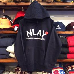 """【残り僅か】AnotA """"NLAY"""" sweat hoody(12oz./NVY)"""