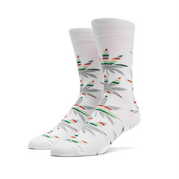 "【残り僅か】HUF ""SERAPE"" SOCKS (White)"