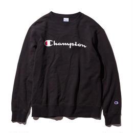 Champion logo sweat(Black)