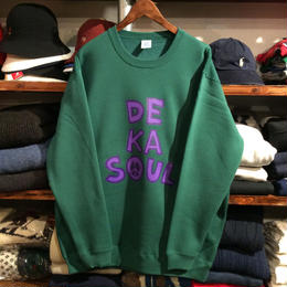 DKMR ''DE KA SOUL'' sweat(Green)