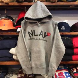 "AnotA ""NLAY"" sweat hoody (12oz./GRY)"