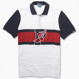 "POLO RALPH LAUREN ""THE STADIUM 1992 P WING"" POLO SHIRT"