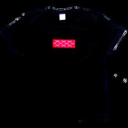 """【残り僅か】AnotA """"GOX"""" tee (Black×Red)"""