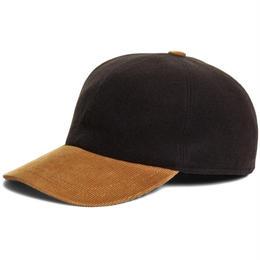 【ラス1】BROOKS BROTHERS wool baseball cap(Black)