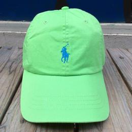 """【残り僅か】POLO RALPH LAUREN """"small pony '' logo adjuster cap (Light Green×Light Blue)"""