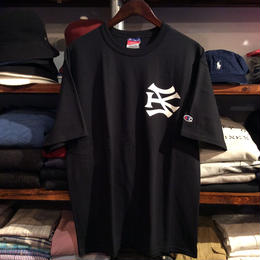 "【ラス1】SH*T KICKER ""SK LOGO"" Champion tee (Black)"