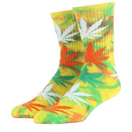 "【残り僅か】HUF ""PLANTLIFE STRAINS"" CREW SOCK (Sour Diesel)"