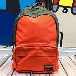 【残り僅か】POLO RALPH LAUREN military nylon backpack(Khaki/Orange)