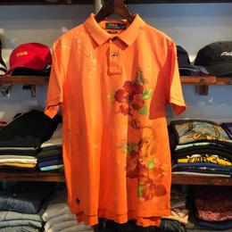 【残り僅か】POLO RALPH LAUREN Custom fit  polo shirt (Orange)