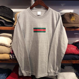"【残り僅か】GUALA ""GEL BOX"" L/S tee (Gray)"