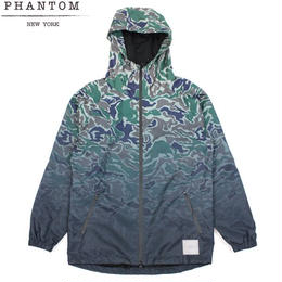 【ラス1】PHANTOM NYC Fade Camo Nylon Jacket (Woodland Camo)