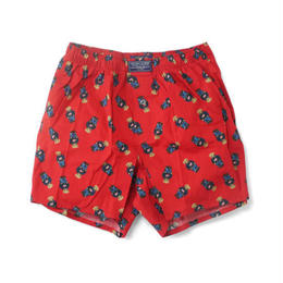 POLO RALPH LAUREN bear trunks (Red)
