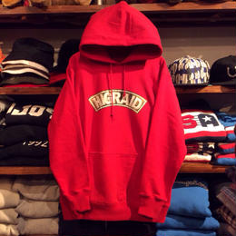 【残り僅か】visualreports ''REAL HIGRADE'' heav weight hoody (Red)