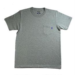 【残り僅か】RUGGED high grade cotton pocket tee (Gray)