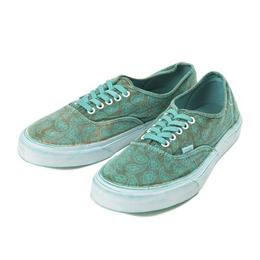Vans Authentic Overwash Paisley ( Turquoise)