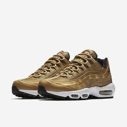 【ラス1】 NIKE AIR MAX 95 PRM QS (METALLIC GOLD)