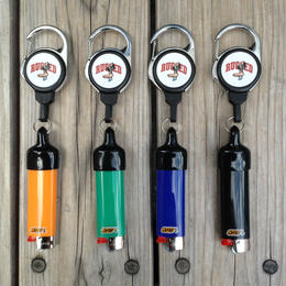 RUGGED Arch logo Reel Lighter Cap (Bic Lighter付き)