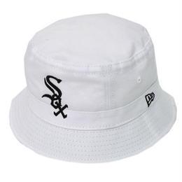 """【ラス1】NEW ERA """"White Sox"""" bucket hat (White)"""