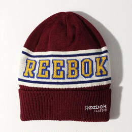【残り僅か】Reebok logo beanie (Burgundy)