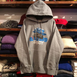 "【ラス1】visualreports ""EL LIZARD BIRTH"" heavyweight sweat hoody (Gray/ポスター付)"