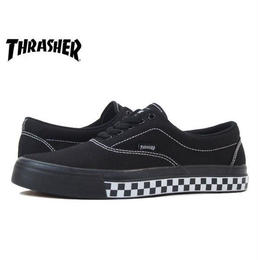 【残り僅か】THRASHER ''DECKER'' (black/white CHECKER)