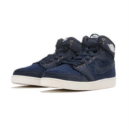 【残り僅か】NIKE AIR JORDAN 1 RETRO KO HIGH OG (OBSIDIAN/WHITE/METALLIC BRONZE)