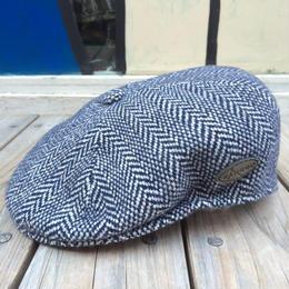【残り僅か】 KANGOL Wool Herringbone 504 (Dark Blue)