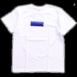 """【ラス1】AnotA """"GOX"""" tee (White×Blue)"""