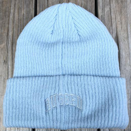 "【残り僅か】RUGGED on Champion ""ARCH LOGO"" beanie(Light Blue)"