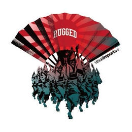"visual reports ""RUGGED KOENJI"" sticker"