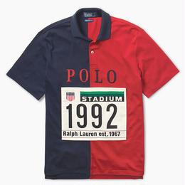 "POLO RALPH LAUREN ""THE STADIUM 1992 "" COTTON SHIRT"